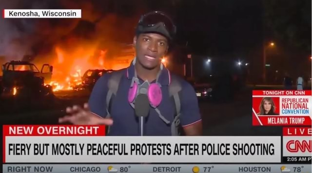 Kenosha, Wisconsin iN TONIGHT NEW OVERNIGHT FIERY BUT MOSTLY PEACEFUL PROTESTS AFTER POLICE SHOOTING AM RIGHT NOW CHICAGO DETROIT HOUSTON memes