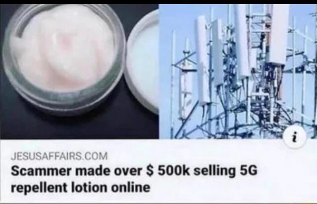 FAIRS.CON Scammer made over $ 500k selling repellent lotion online memes