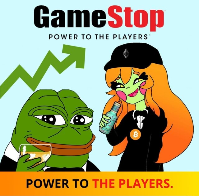 GameSiop POWER TO THE PLAYERS POWER TO THE PLAYERS memes