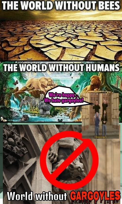 THE WORLD WITHOUT BEES THE WORLD WITHOUT HUMANS al withant meme