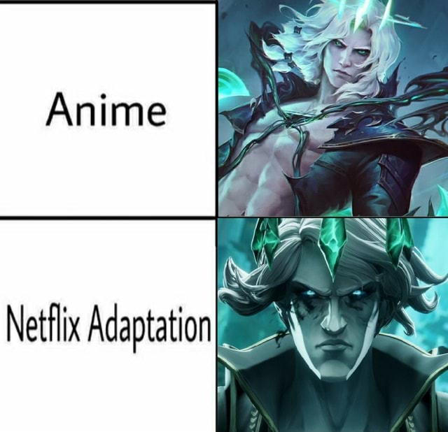 Gs Anime WY Netflix Adaptation meme