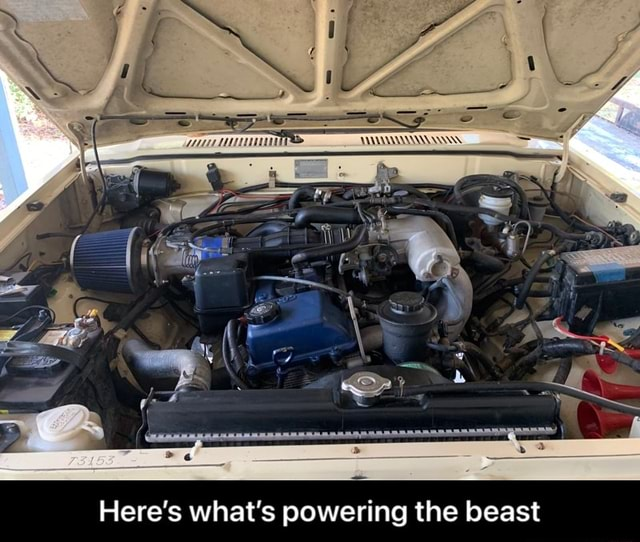 Here's what's powering the beast Here's what's powering the beast meme