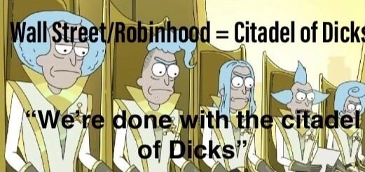Citadel of Dick meme