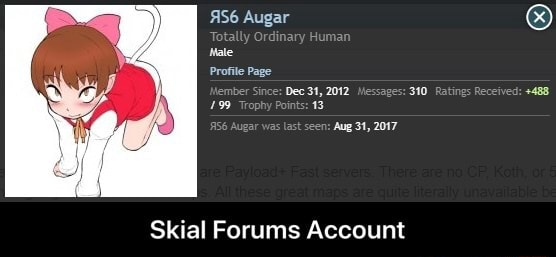 Augar Male Profile Page jember Since Dee 34, 2012 Messages 310 Ratings Received 488 1.99 Trophy Points 13 en Aug 31, 2017 Skial Forums Account Skial Forums Account meme