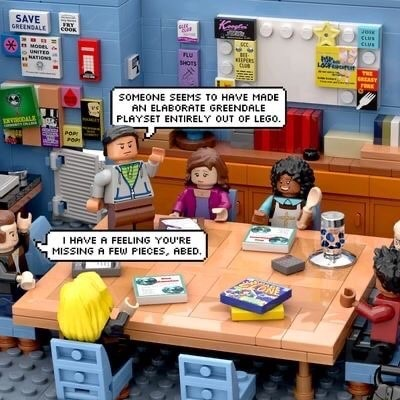 'SOMEONE SEEMS TO HAVE MADE PLAYSET ENTIRELY OUT OF LEGO memes