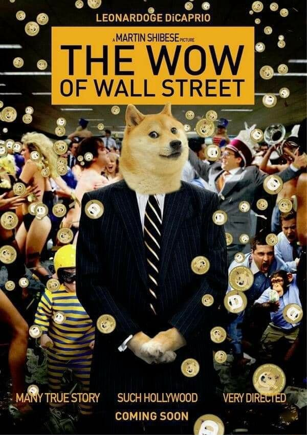 LEONARDOGE DICAPRIO THE WOW OF WALL STREET TRUESTORY SUCH HOLLYWOOD VERY DIRECTED. COMING SOON meme