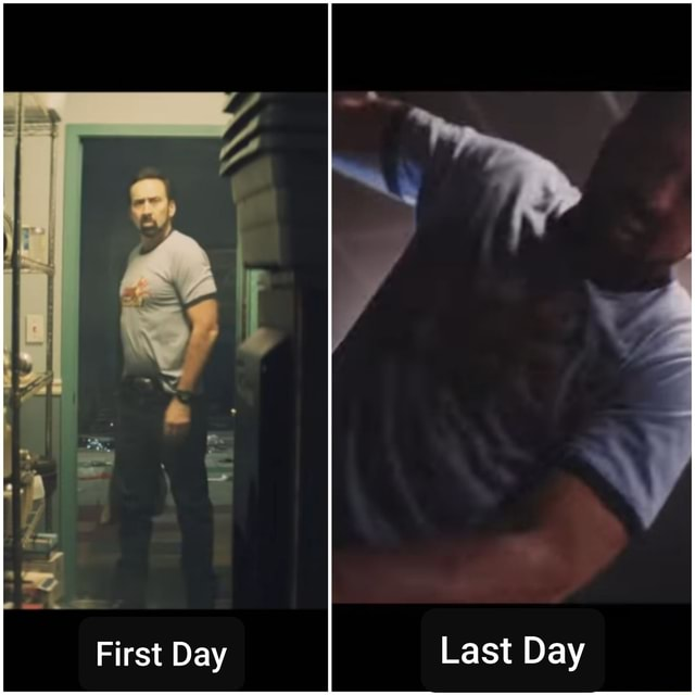 Last Day OX First Day meme