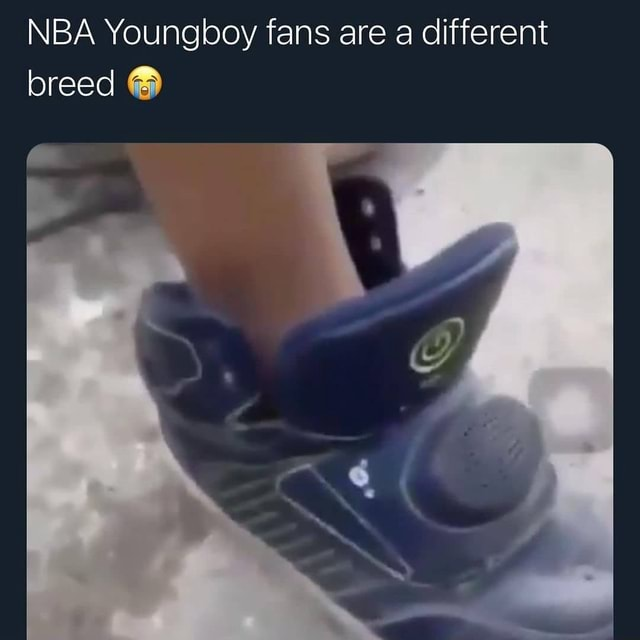 NBA Youngboy fans are a different breed meme