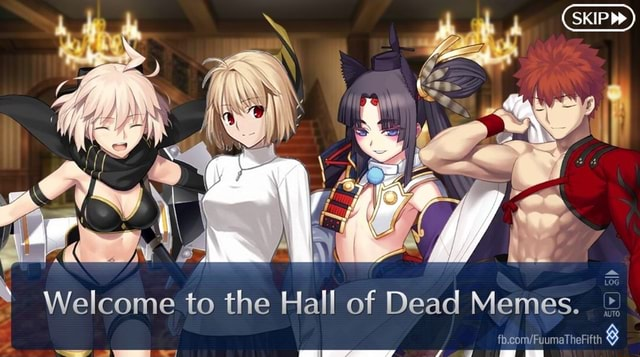 SKIP Welcome to the Hall of Dead Memes