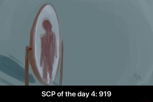 SCP of the day 4 919 SCP of the day 4 919 meme