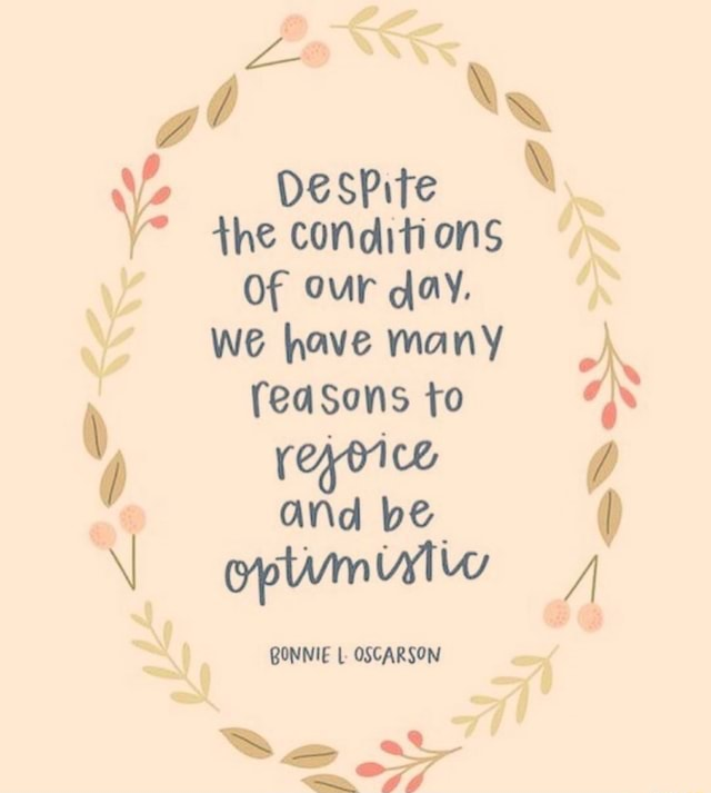 At we have many reasons to and be opwmiylw y, BONNIE OSCARSON DeSPite the conditions Of Our day memes