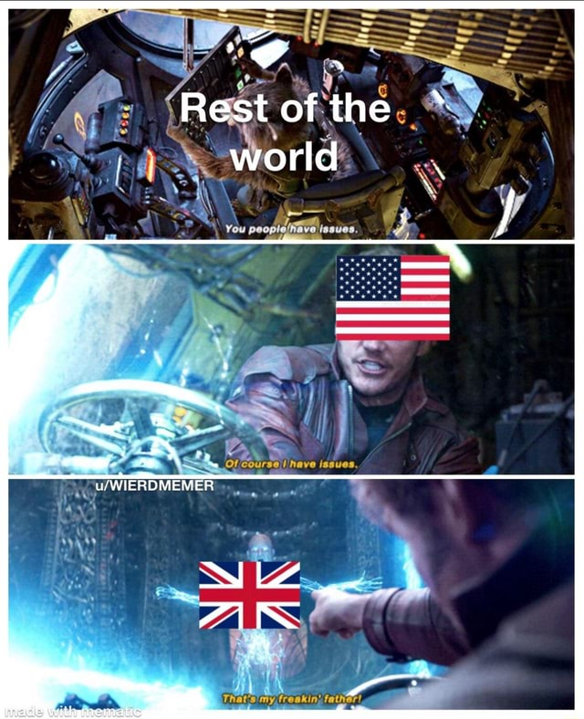 Rest of the world You poop Of course have issues memes