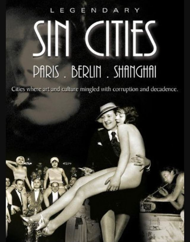 LEG OAR CITIES PARIS SHANGHA Cities where art and culture mingled with corruption and decadence meme