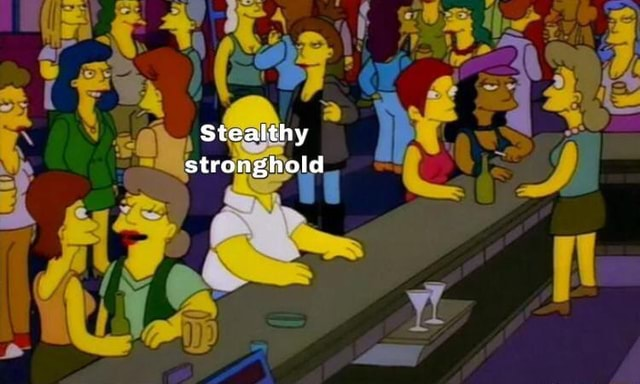 Stealthy stronghold memes