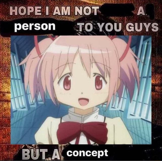 HOPEIAMNOT A. person TO YOU GUYS BUT concept meme