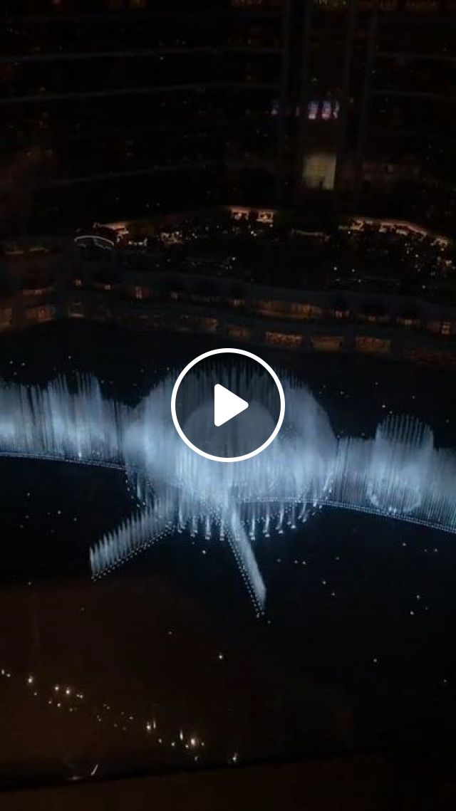Water Music On The Lake Is Beautiful - Video & GIFs | Nature & Travel, performances, water, light, music