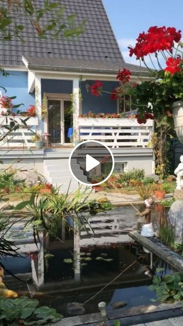 Resort Has Lots Of Flowers And Romantic Houses - Video & GIFs | Nature & Travel, nature, flower, resort