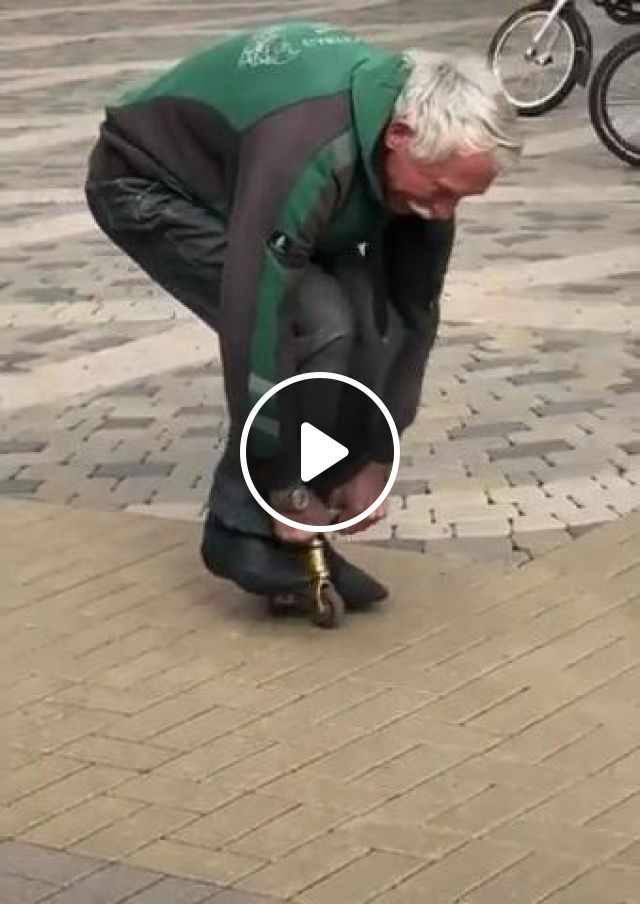 Old Man Is Driving A Very Small Bike - Video & GIFs | Sports, old man, old fashion, bicycle, performance