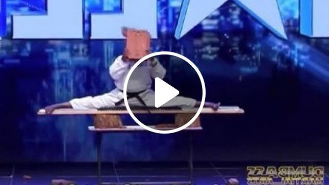 Man Performing Martial Arts On Stage - Video & GIFs | Sports, funny, men, fashion sports, sports equipment, performances, martial arts, stage