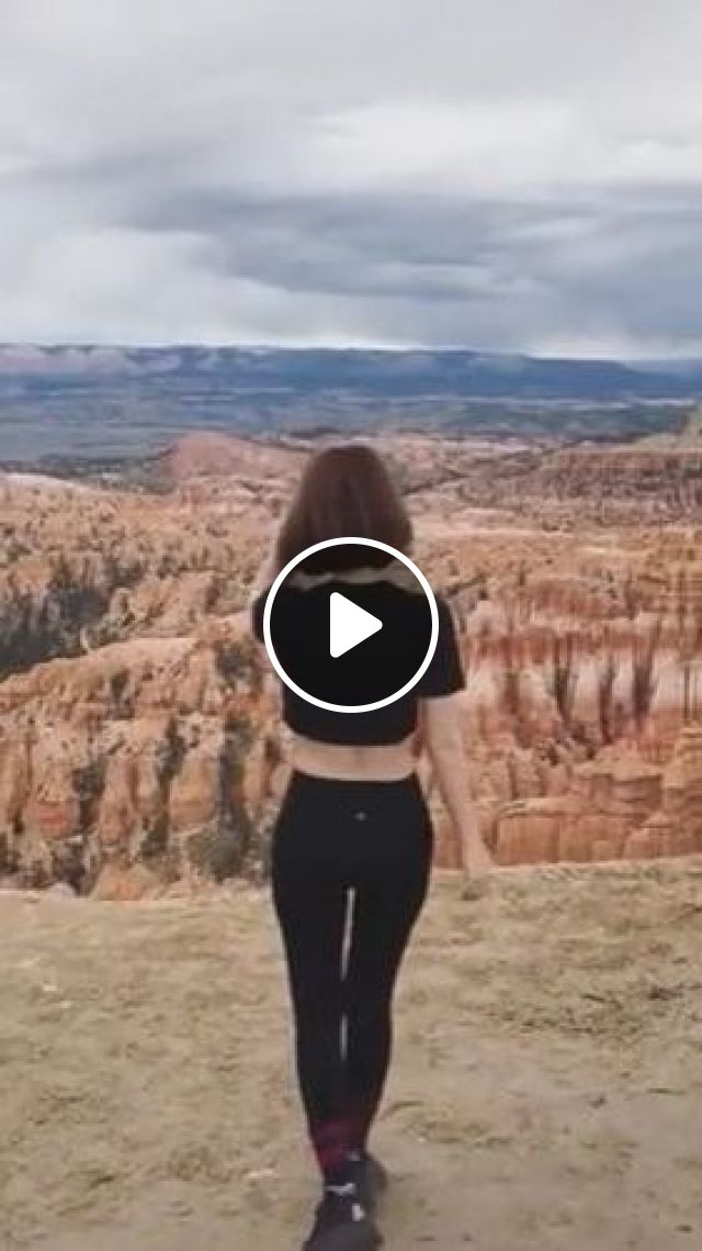Girl Traveling To Top Of Mountain - Video & GIFs | fashion & beauty, clothes fashion, travel, high mountain peaks