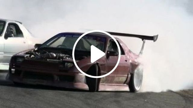 Mazda RX7 LS1 1988 - Video & GIFs | auto & technique, mazda, drifting, street racing, luxury cars, luxury vehicles