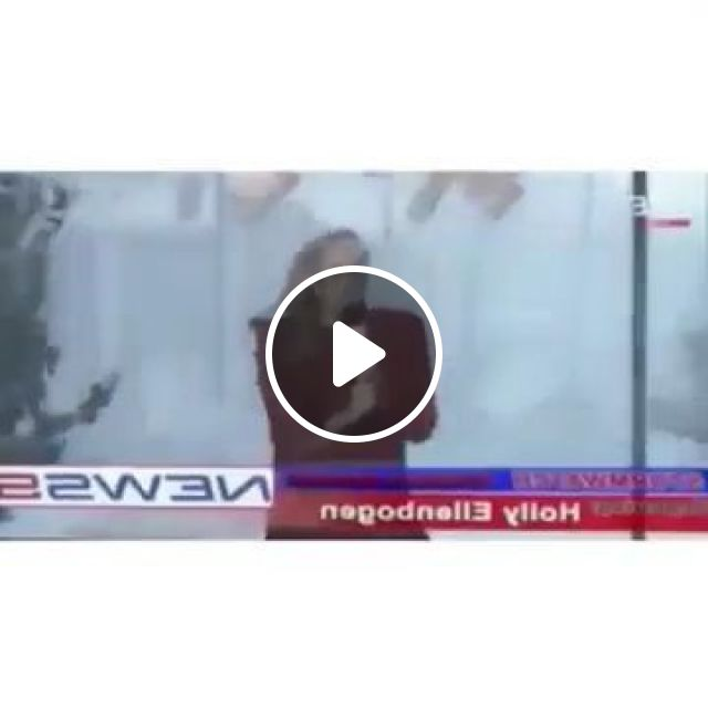 Girl In Live Weather On Television - Video & GIFs | Science & Technology, girl, female fashion, host, park, weather program, live, television