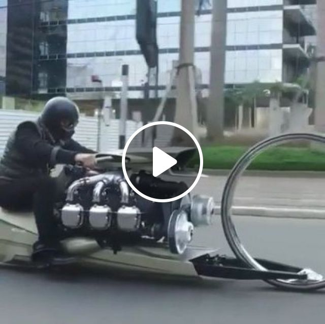 Awesome Wheels On This Motorcycle - Video & GIFs | auto & technique, motor technology, motor sports
