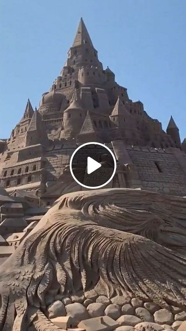 Germany Travel,A Spectacular New Record For Tallest Sandcastle In Binz - Video & GIFs | nature & travel, germany travel, sea travel