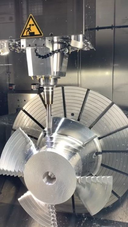 5 Axis Cnc machining - Video & GIFs | science & technology,automation,cutting technology