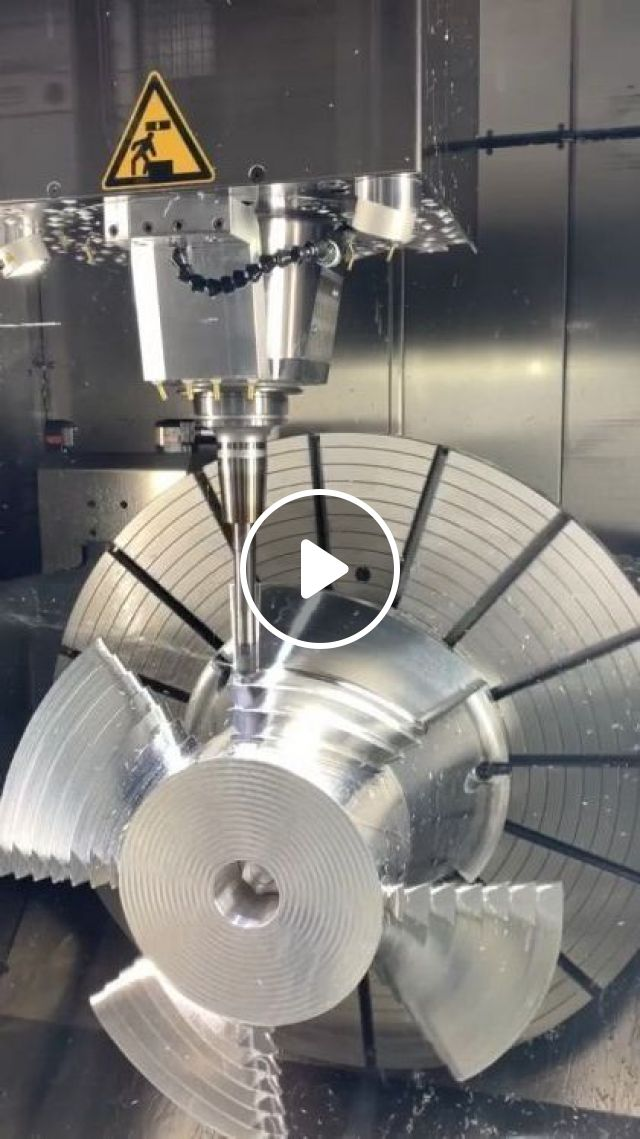5 Axis Cnc Machining - Video & GIFs   science & technology, automation, cutting technology