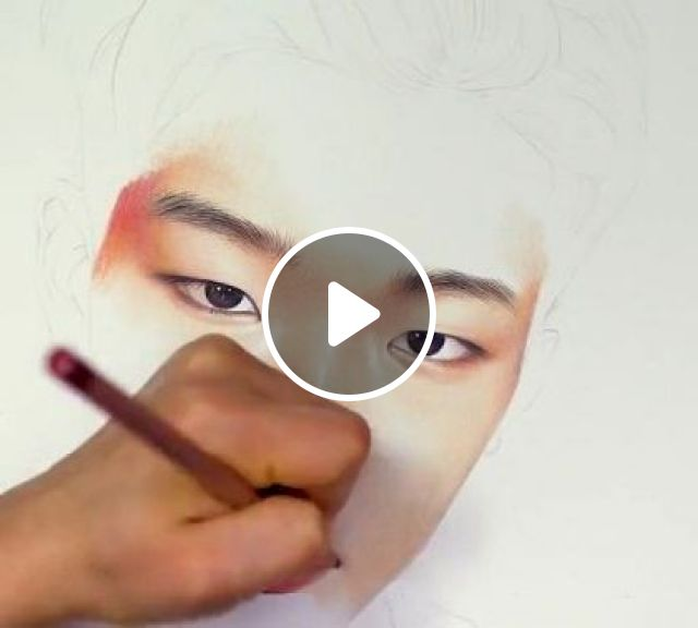 I Recognized Him From A Mile Away. Bobby - Video & GIFs | art & design, drawing tools, crayons, kpop