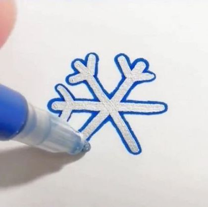 way silver lines slowly spread out - Video & GIFs | art & design,drawing paper,drawing tools
