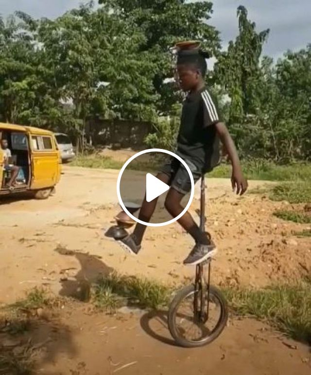 I Can Barely Ride A Normal Bike Lol - Video & GIFs | sports, talented men, sports equipment