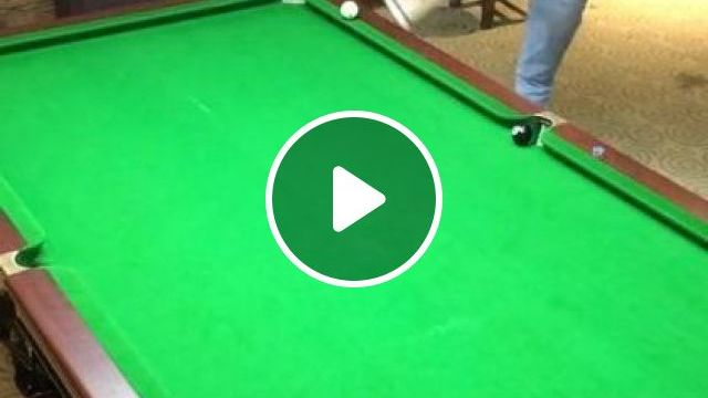 Girl Playing Billiards With Shoes - Video & GIFs   sports, sports equipment, sports clothing