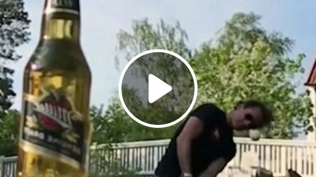 How To Open A Bottle Cap - Video & GIFs | sports, talented men, golf clubs, fashion clothes