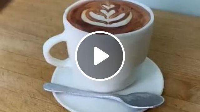 Espresso With Creme Filling - Video & GIFs | art & design, food decoration, delicious food