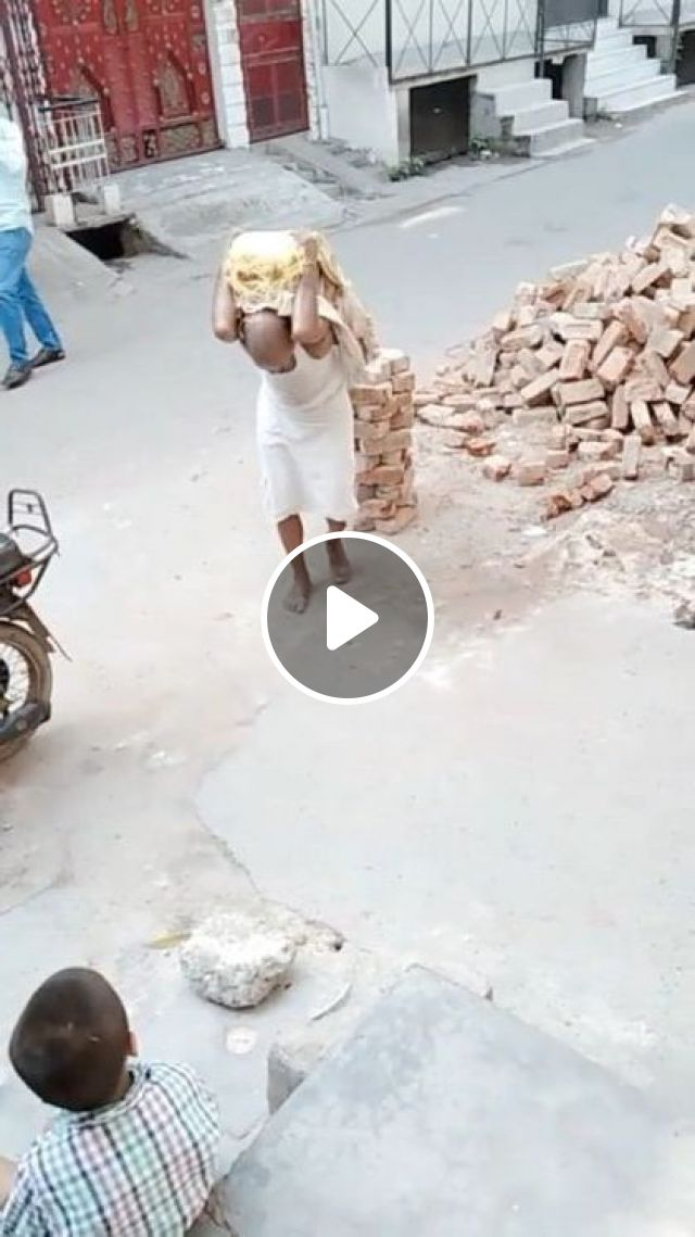 Old Man Power - Video & GIFs | sports, strong man, indian street