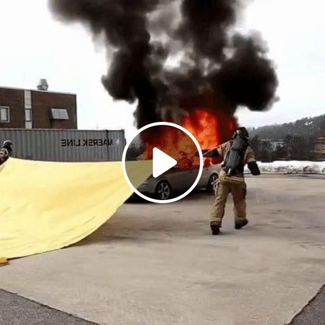 Putting Fire To Sleep X - Video & GIFs | science & technology, fire technology, luxury cars