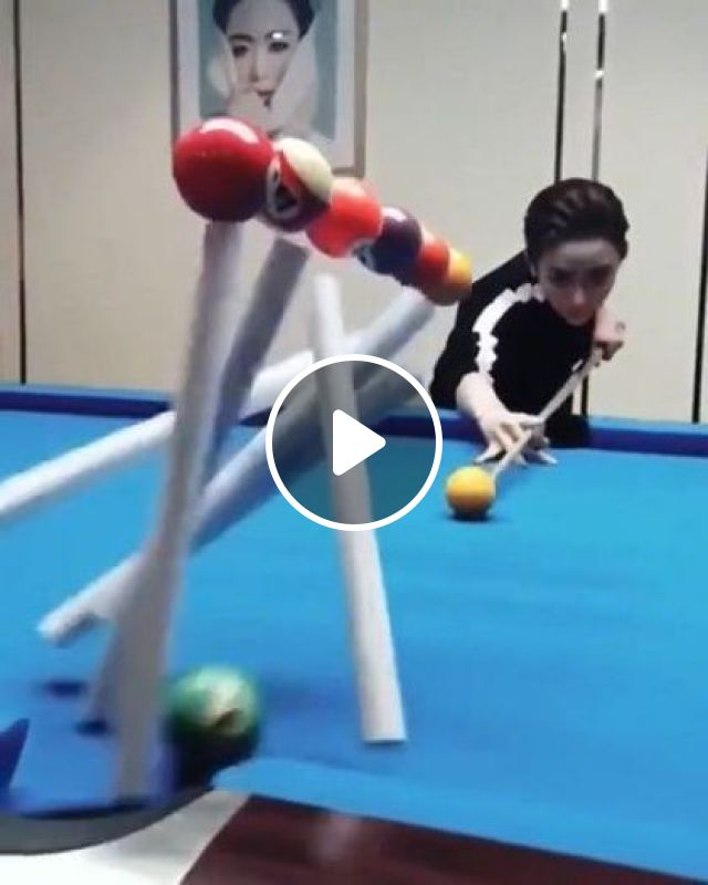 I Cannot Stop Watching This. Amazing Job - Video & GIFs | fashion & beauty, fashionable clothes, snooker, talented girls
