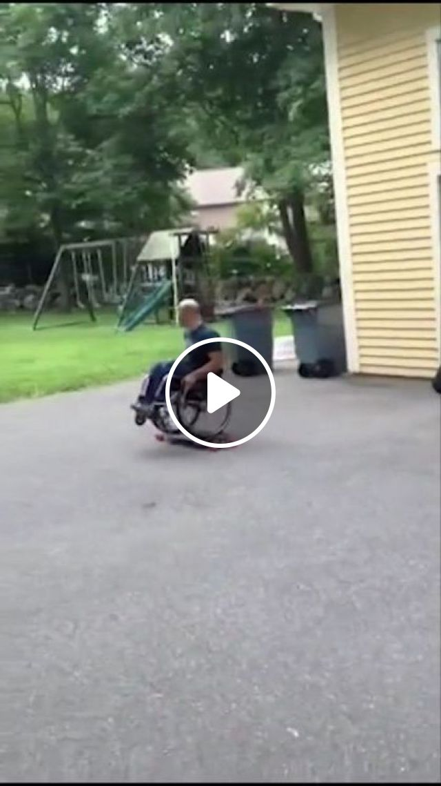 Who Said You Can't Skate In Wheelchair - Video & GIFs | sports, talented men, sports clothes, sports equipment