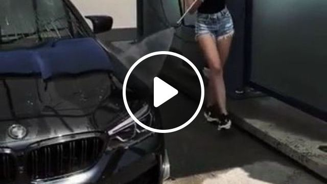 High-class Automotive Cleaning Tools - Video & GIFs   science & technology, hygiene tools, high-class cars, hardworking girls