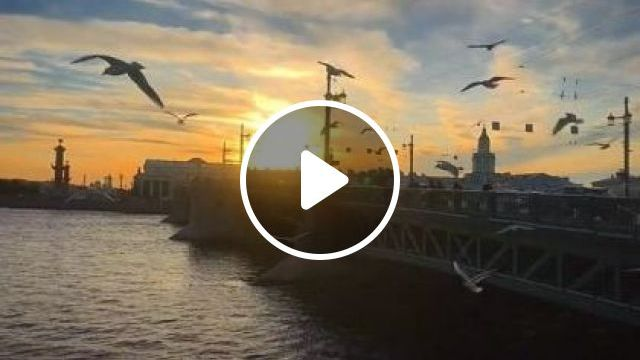 Sunset On The Banks Of Russian River - Video & GIFs | nature & travel, sunset, riverside, russia travel