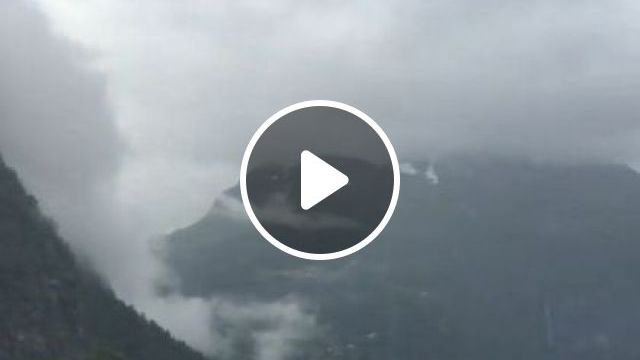Peaceful Nature In Norway - Video & GIFs   nature & travel, attractions, geirangerfjord, norway travel, cruise ships