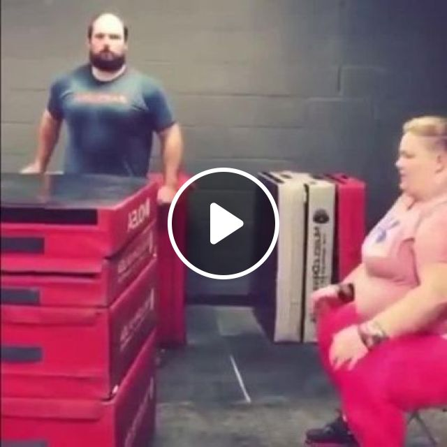 Hardworking Girl Exercising With Coach - Video & GIFs   sports, girls, sports fashion, coaches, buildings