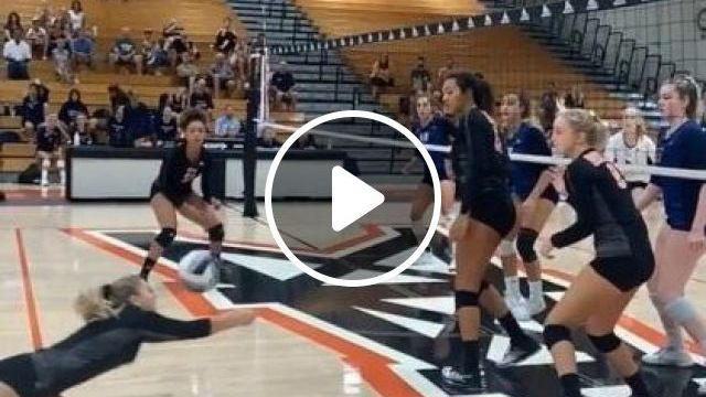 Never Give Up In Volleyball - Video & GIFs   sports, volleyball, sports clothes, sports shoes