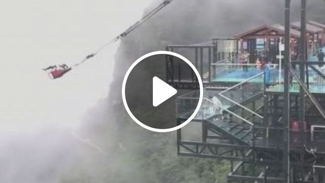 China TravelThis Giant Rope Swing - Video & GIFs | nature & travel, mountain travel, china travel