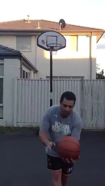 Lucky man in basketball - Funny Videos - funnylax.com - sports,lucky men,sports clothes,sports shoes