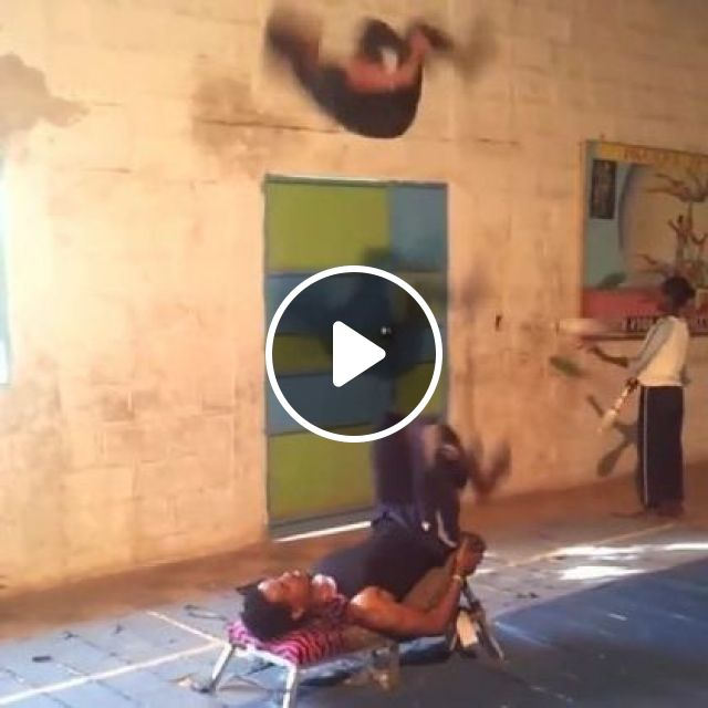 Don't Try It At Home - Video & GIFs   sports, talented men, acrobatics, sports shoes