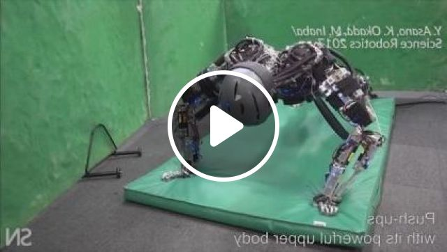 Robot Is Doing Exercises - Video & GIFs   Science & Technology, sports, robot, exercise