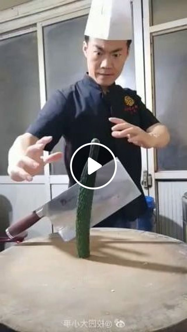 Chinese Chef Is Very Skillful - Video & GIFs   art & design, cooking tools, food decoration